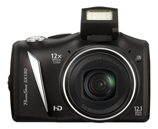 Canon - Powershot Sx130 Is 12 Mp Hd Zoom De 5.0 A 60.0 Mm