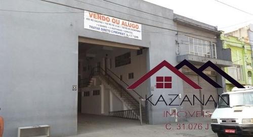 Galpão Com 450m²  (vila Nova) - 923