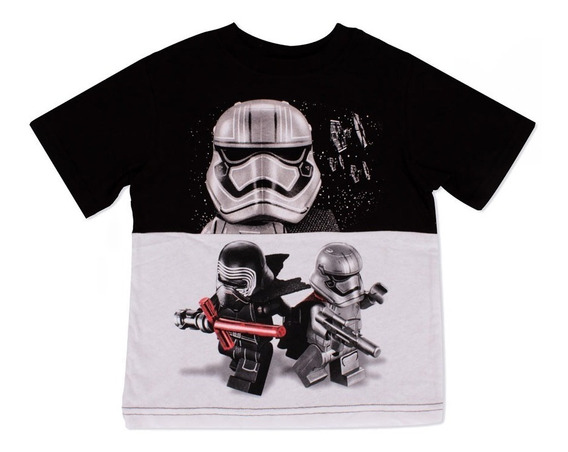 Playera Para Niño Lego Estampado Star Wars Stormtrooper Team