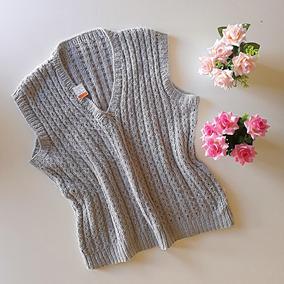 Colete Frio Inverno Blusa De Trico Lã Confortável Elegante G