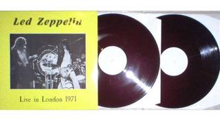 Led Zeppelin Vinilo Live In London 1971 Bbc Broadcast