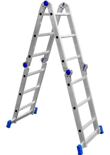 Escada Alumínio Profissional Articulada 3x4 - 12 Degraus