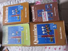 Química - Ricardo Feltre Coleção Com 4 Volumes Com Rspostas