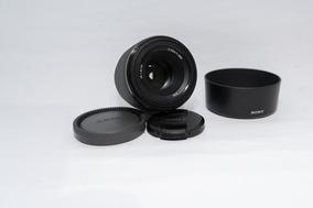 Lente Sony 50 1.8 Fe Full Frame Desc A Vista