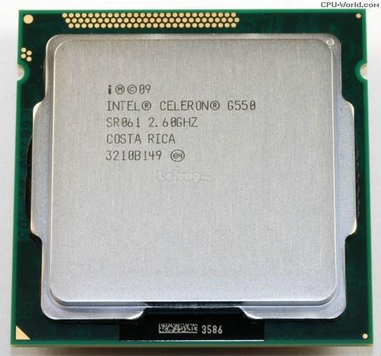 Processador Intel Celeron G550 2.6 Socket 1155 Semi-novo