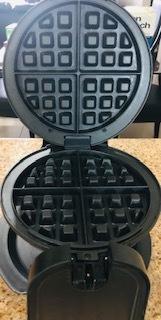 Wafflera Giratoria Black & Decker