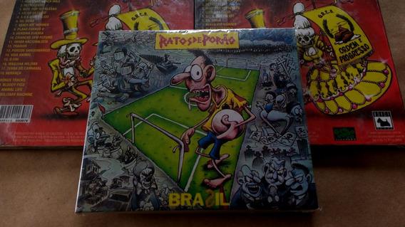 Cd Ratos De Porão - Brasil - Digipack Lacrado