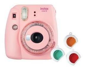 Câmera Instantânea Fujifilm Instax Mini 9 Rosa Chiclé Com 3