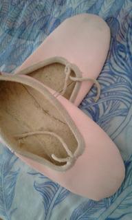 Zapatillas De Danza Cuero