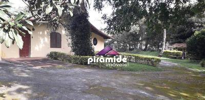 Chácara Com 3 Dormitórios À Venda, 2084 M² Por R$ 1.060.000 - Jardim Uirá - São José Dos Campos/sp - Ch0088