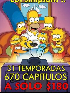 31 Temporadas +650 Capitulos Los Simpsons (links)
