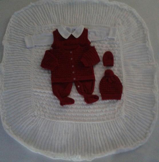 Maternidade Body Salopete Casaco Gorro Luva Manta Ref.205