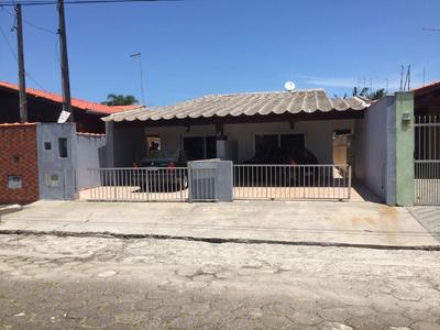 Linda Casa Itanhaem Cibratel 2 Casas Por Preço De 1