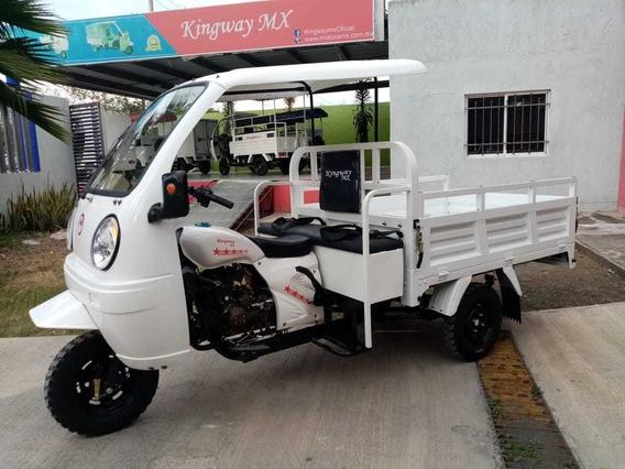 Moto Pick Up 2020 Con Cabina Y Asiento Corrido Pasajeros