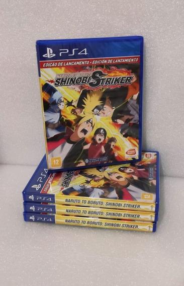 Naruto To Boruto Shinobi Striker Ps4 Mídia Física -lacrado