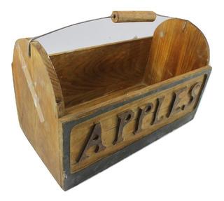 Caja Madera 34x20x18 Mango Apple (ver Detalles)