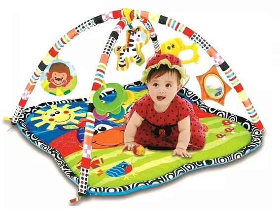 Tapete Infantil Com Atividades Acolchoado Zoop Toys 0187