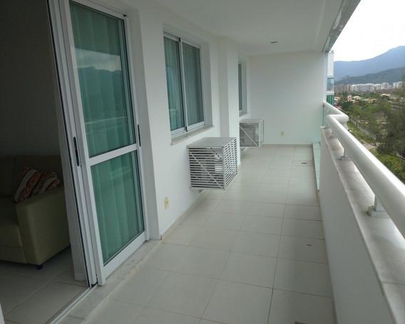 Apartamento Para Alugar No Bairro Recreio Dos Bandeirantes Em Rio De Janeiro - Rj. 2 Banheiros, 2 Dormitórios, 1 Suíte, 1 Vaga Na Garagem, 1 Cozinha, Área De Serviço, Sala De Est - 4142 - 34339793