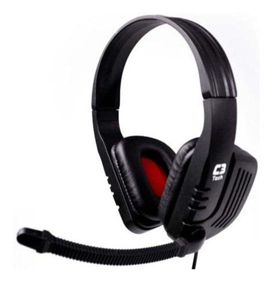 Fone De Ouvido Headset Gamer C3tech Predator Mi-2558rb Pc