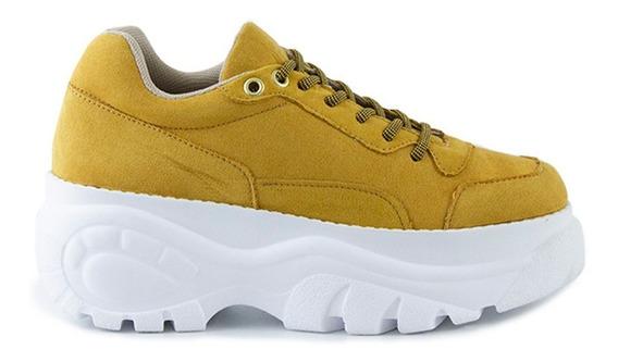 Trender Sneakers Con Plataforma Texturizada