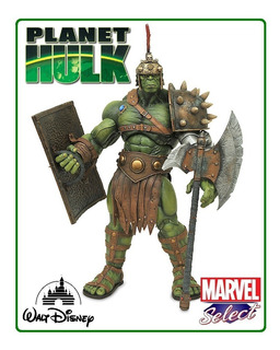 Planet Hulk: Marvel Diamond Select Toys (disney Store) 2017.
