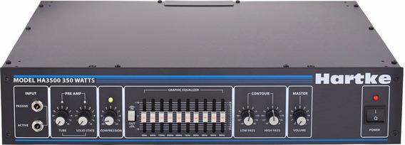 Amplificador Cabecote Hartke Bass Ha3500 -produto Novo -loja