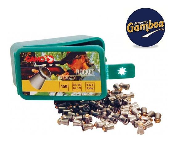 Diabolos Gamo Rocket Calibre 4.5 150 Piezas