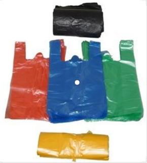 Bolsas Plasticas De Camiseta 2kg A 30kg