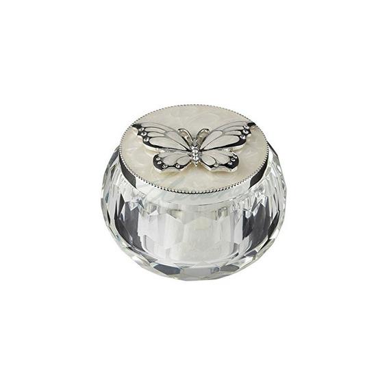 La Caja De Abalorios De Mariposa Mariposa De Plata 3 Pulgada