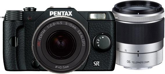 Pentax Q10 12.4 Mp Digital Camara Black Kit W 5-15mm Lente ®