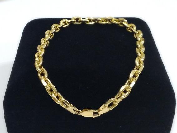 Pulseira Cartier, Ouro 18k (750), 22,5 Cm, Certificado Garantia E Nota Fiscal