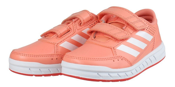 Tênis adidas Infantil Altasport Menina Coral Cp9950 Original