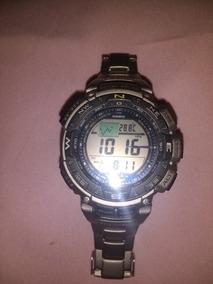 Relógio Protrek Casio Prg 240t-7 Titanio-bar-term-alt-bussul