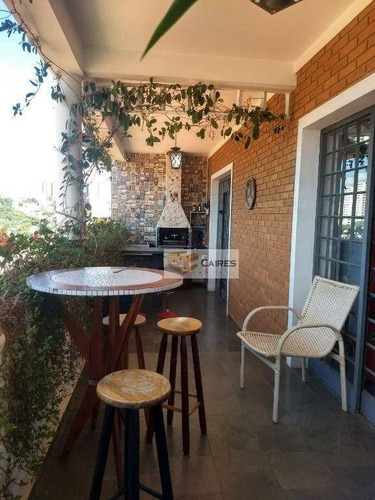 Imagem 1 de 27 de Casa Com 4 Dormitórios À Venda, 435 M² Por R$ 1.100.000,00 - Jardim Guarani - Campinas/sp - Ca3242