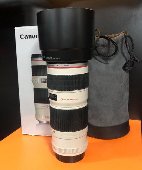 Lente Canon 70/200 F4 L Usm