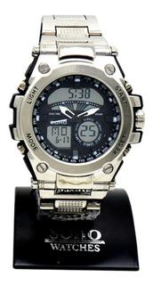 Reloj Hombre Analogo Digital Sumergible Soho Ch033 Cuotas