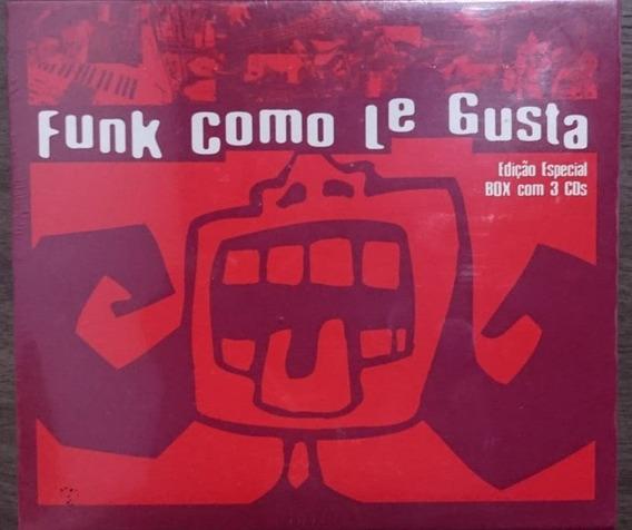 Box Funk Como Le Gusta 3 Cds Edição Especial Frete Gratis