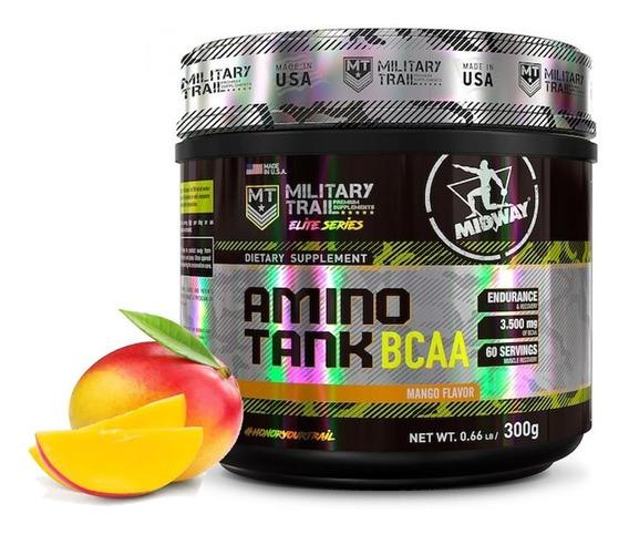 Amino Tank Bcaa 3500mg (300g ) - Military Trail