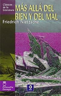Más Allá Del Bien Y Del Mal, Friedrich Nietzsche, Edimat