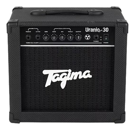 Amplificador Cubo Contra Baixo Tagima Uranio Bass 30w Tub30