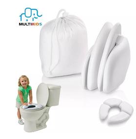 Redutor Assento Vaso Sanitário Infantil Acolchoado Dobravel