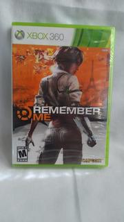 Remember Me - Nuevo Y Sellado - Xbox 360