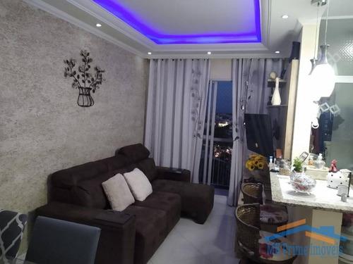 Imagem 1 de 11 de Lindo Apartamento No Jd. Bussocaba. - 1229