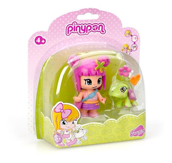Muñeca Pinypon Con Mascota Famosa
