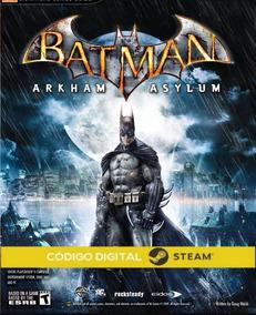 Batman Arkham Asylum Goty Steam Key Código 15 Dígitos Compra