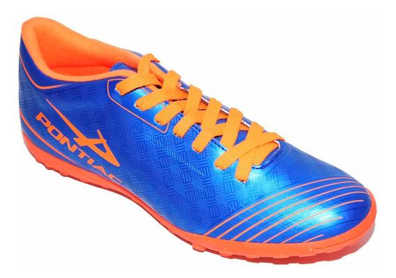 Tenis Fútbol Rápido Caballero Pontiac Azul 2/4-