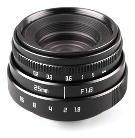 Lente Sony Alpha 25mm F1.8 Nex-6 A6300 A5000 A6000 A7r A7