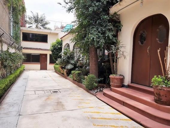 Casa En Venta Ó Renta Para Oficinas En Colonia Del Valle, Ex