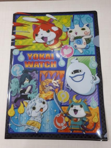 Yokai Watch Clear File Japan Anime Original Pasta