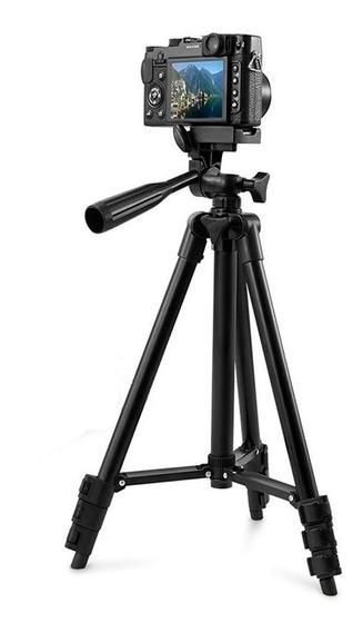 Tripé Celular Câmera Telescópico Alumínio Universal 1,02mt